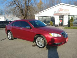Used 2011 Chrysler 200 Limited for sale in Barrie, ON