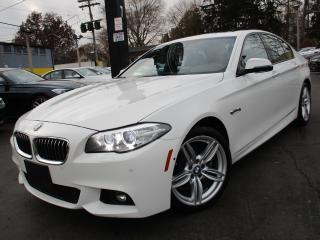Used 2016 BMW 5 Series 528i XDRIVE|M-SPORT PKG|NAVI|BACK-UP CAM|46,000KM for sale in Burlington, ON