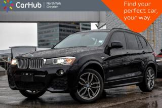 Used 2017 BMW X3 xDrive28i|M.Sport.Aero.Light.Pkgs|Pano_Sunroof|Navi|Backup-Cam| for sale in Thornhill, ON