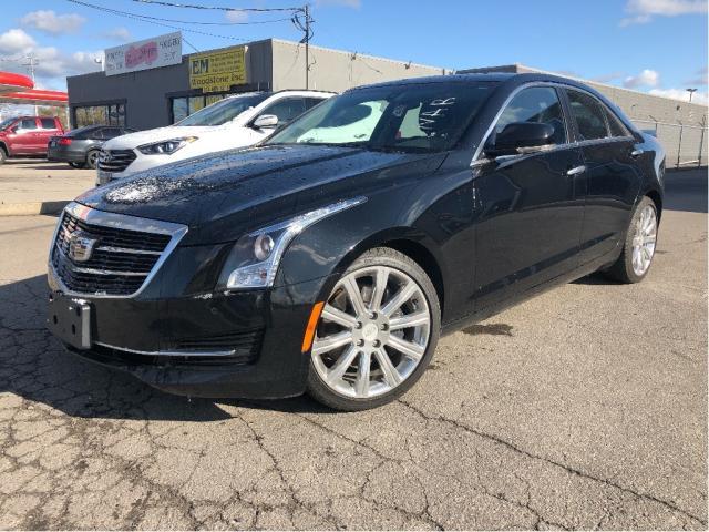 2015 Cadillac ATS 2.0L Turbo Luxury |  Nav | Sunroof | RWD
