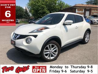 Used 2015 Nissan Juke SV | Nav | Leather | Sunroof | AWD Auto | for sale in St Catharines, ON