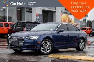 Used 2017 Audi A4 Technik Quattro|Nav|B&OSound|Sunroof|HeatedSeats|HeatedSteering|360Cam for sale in Thornhill, ON