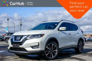 Used 2017 Nissan Rogue SL Platinum|AWD|Navi|Pano Sunroof|Bluetooth|Backup Cam|R-Start|Leather|19