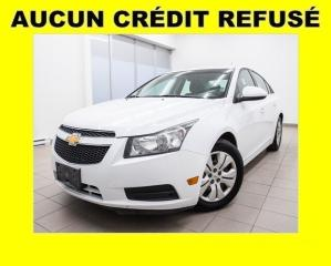 Used 2013 Chevrolet Cruze LT AUTOMATIQUE CLIMATISEUR *BLUETOOTH* for sale in St-Jérôme, QC