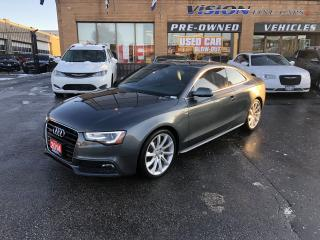 Used 2014 Audi A5 2dr Cpe Auto Progressiv for sale in North York, ON