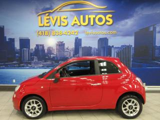 Used 2012 Fiat 500 AUTOMATIQUE SEULEMENT 128900KM BAS PRIX for sale in Lévis, QC