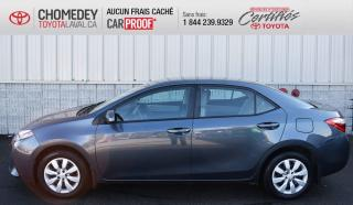Used 2016 Toyota Corolla LE, AUTOMATIQUE, ** SEULEMENT 34 647KM ** for sale in Laval, QC
