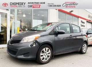 Used 2014 Toyota Yaris LE, AUTOMATIQUE ** PRIX ENCAN ** for sale in Laval, QC