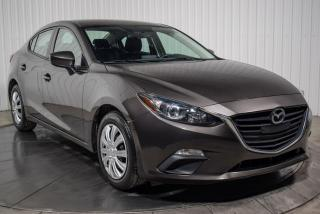 Used 2016 Mazda MAZDA3 GX A/C BLUETOOTH CAMERA DE RECUL for sale in St-Hubert, QC