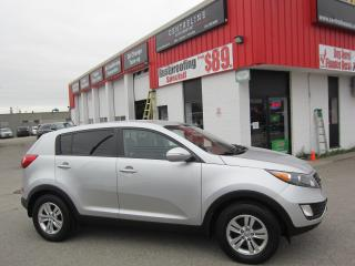 Used 2012 Kia Sportage LX 8,995+ HST + LIC FEE / CERTIFIED / 1 OWNER / ALLOY WHEELES for sale in North York, ON