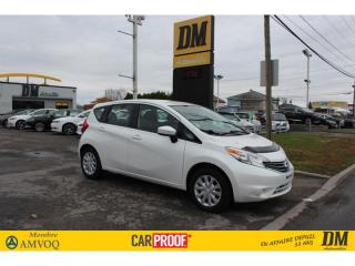 Used 2016 Nissan Versa Note SV 11 441 KM **UN SEUL PROPRIÉTAIRE** for sale in Salaberry-de-Valleyfield, QC