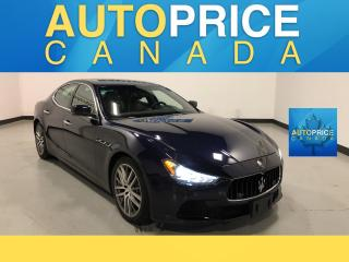 Used 2015 Maserati Ghibli S Q4 MOONROOF|NAVIGATION|LEATHER for sale in Mississauga, ON