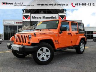 Used 2012 Jeep Wrangler Unlimited SAHARA  - $182 B/W for sale in Ottawa, ON
