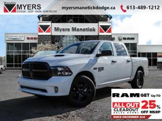 New 2019 RAM 1500 Classic - $227 B/W for sale in Ottawa, ON