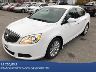 Used 2014 Buick Verano for sale in Rivière-Du-Loup, QC