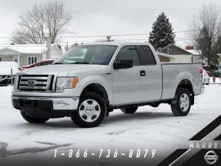 Used 2011 Ford F-150 XLT 4X4 + 5.0L + 74 342 KM + WOW! for sale in Magog, QC
