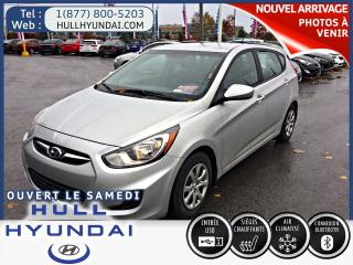 Used 2014 Hyundai Accent GL  automatique 5portes a/c for sale in Gatineau, QC