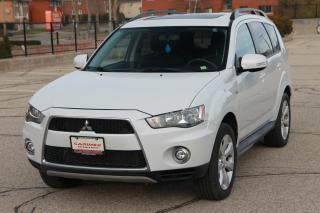 Used 2012 Mitsubishi Outlander LS 7 Passenger | 4x4 | Sunroof | CERTIFIED for sale in Waterloo, ON