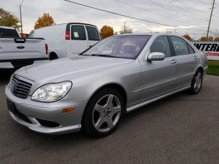 Used 2004 Mercedes-Benz S-Class SUNROOF !!  NAVIGATION !!  LEATHER !! for sale in Cambridge, ON