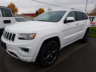 Used 2015 Jeep Grand Cherokee Overland DIESEL !!  NAVIGATION !!  SUNROOF !! for sale in Cambridge, ON