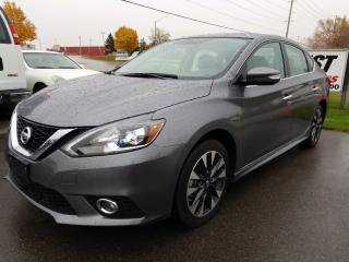Used 2016 Nissan Sentra 1.8 SR NAVIGATION !!  SUNROOF !!  LEATHER !!  LOW KMS for sale in Cambridge, ON