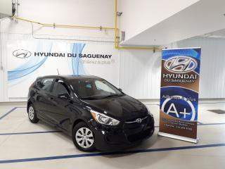 Used 2015 Hyundai Accent GL/AC/SIÈGES CHAUFFANTS GARANTIE 2020 for sale in Jonquière, QC
