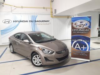 Used 2015 Hyundai Elantra GL/SIÈGES CHAUFFANTS GARANTIE for sale in Jonquière, QC