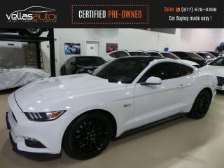 Used 2017 Ford Mustang GT| RECARO SEATS| BREMBO| BORLA EXHAUST for sale in Vaughan, ON