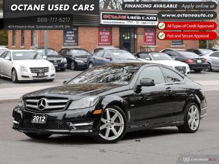 Used 2012 Mercedes-Benz C-Class C 350 4MATIC! Red Interior! AMG! for sale in Scarborough, ON