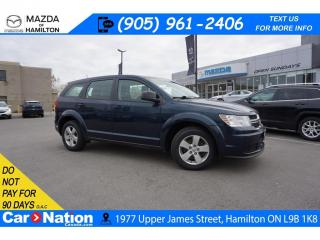 Used 2014 Dodge Journey CVP/SE Plus CVP | CRUISE CONTROL | AUX INPUT | DUAL CLIMATE for sale in Hamilton, ON