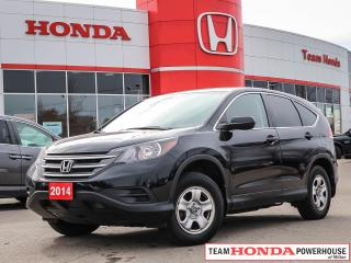 Used 2014 Honda CR-V LX 2WD--Clean CarFax Ready for your driveway!!!!! for sale in Milton, ON