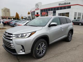 New 2019 Toyota Highlander XLE SAVE BIG ON THIS DEMO MODEL! CALL FOR DETAILS for sale in Etobicoke, ON