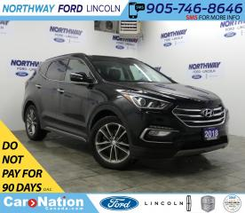 Used 2018 Hyundai Santa Fe Sport TURBO | AWD | LEATHER  | PANOROOF | REAR CAMERA for sale in Brantford, ON