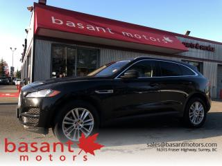 Used 2018 Jaguar F-PACE Prestige, Nav, Sunroof, Backup Cam, Heated Seats!! for sale in Surrey, BC