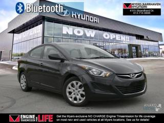Used 2015 Hyundai Elantra GL  - Heated Seats -  Bluetooth - $51.64 /Wk for sale in Nepean, ON