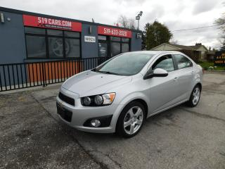 Used 2016 Chevrolet Sonic LT|BLUETOOTH|SUNROOF|BACKUP CAMERA for sale in St. Thomas, ON