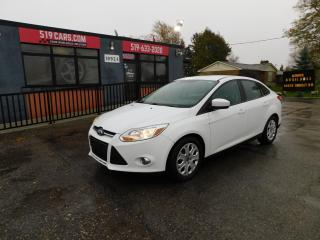 Used 2012 Ford Focus SE|MICROSOFT SYNC|USX/AUX|CRUSIE/AC for sale in St. Thomas, ON
