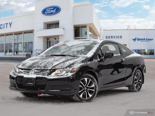 Used 2013 Honda Civic LX for sale in Winnipeg, MB