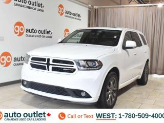 Used 2018 Dodge Durango Gt, 3.6L V6, Awd, Third row 7 passenger seating, Leather heated seats, Heated steering wheel, Backup camera, Sunroof, Bluetooth for sale in Edmonton, AB