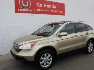 Used 2007 Honda CR-V EXL4WD for sale in Edmonton, AB