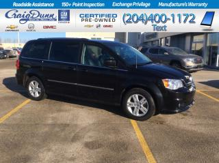 Used 2017 Dodge Grand Caravan * Crew Plus * DVD PLAYER * POWER LIFTGATE * for sale in Portage la Prairie, MB