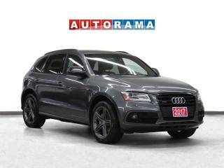 Used 2017 Audi Q5 Technik S-Line 4WD Navigation Leather PanRoof BCam for sale in Toronto, ON