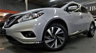 Used 2016 Nissan Murano Platinum for sale in North York, ON