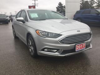 Used 2017 Ford Fusion SE | Sedan | Rear View Camera for sale in Harriston, ON