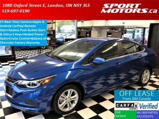 Used 2017 Chevrolet Cruze LT+Apple & Android Play+HTD Seats+Camera+RMT Start for sale in London, ON