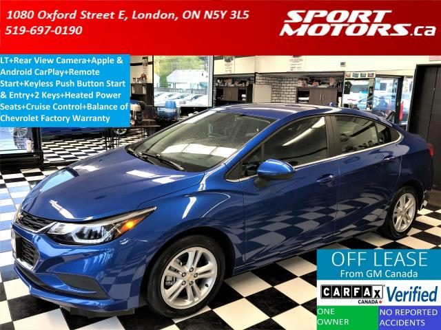 2017 Chevrolet Cruze LT+Apple & Android Play+HTD Seats+Camera+RMT Start
