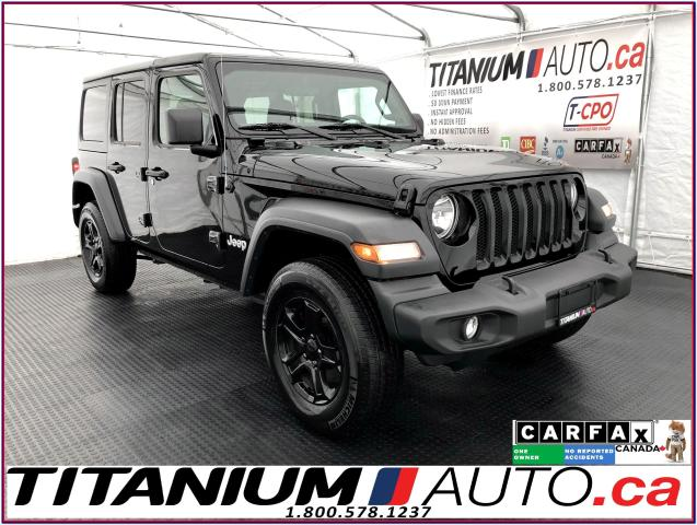 2018 Jeep Wrangler JL+Unlimited+Camera+Apple Play+Heated Seats &Wheel