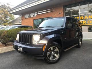 Used 2008 Jeep Liberty 4WD Sport Sunroof Alloys Cruise Control Certi* for sale in Concord, ON