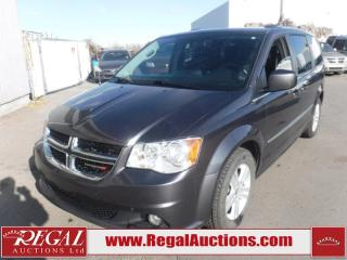 Used 2017 Dodge Grand Caravan Crew Wagon 7PASS 3.6L for sale in Calgary, AB