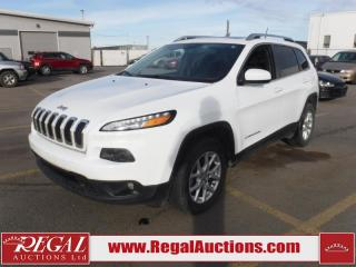 Used 2016 Jeep Cherokee North 4D Utility 4WD 3.2L for sale in Calgary, AB